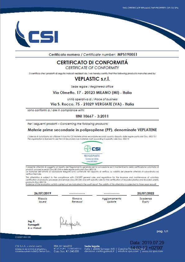 veplastic - CSI